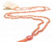 Devotion mala ketting