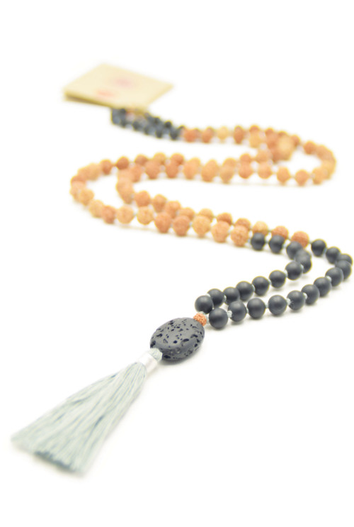 Earth Walk mala ketting