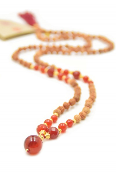 Pray and Love mala ketting