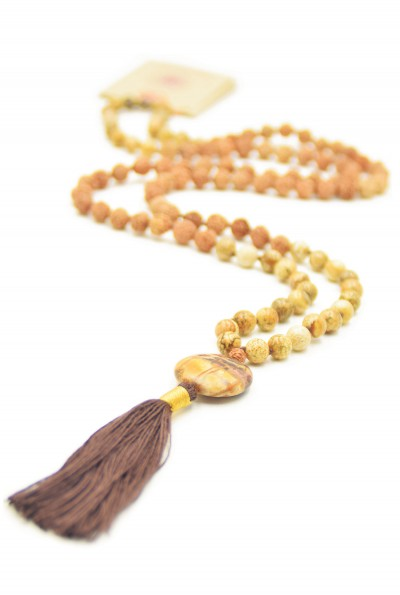 Self Creation mala ketting