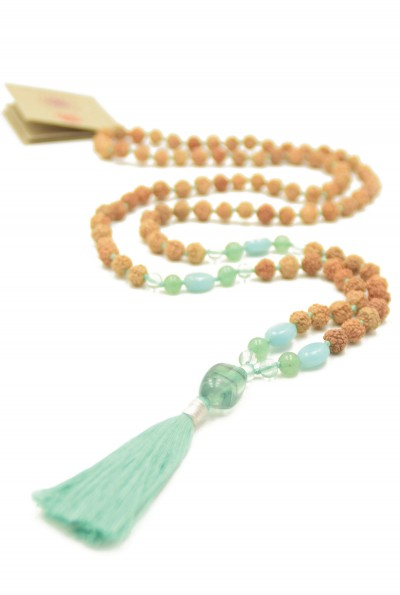 Green Spirit mala ketting