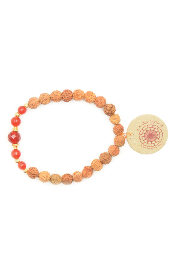 Pray and Love mala armband