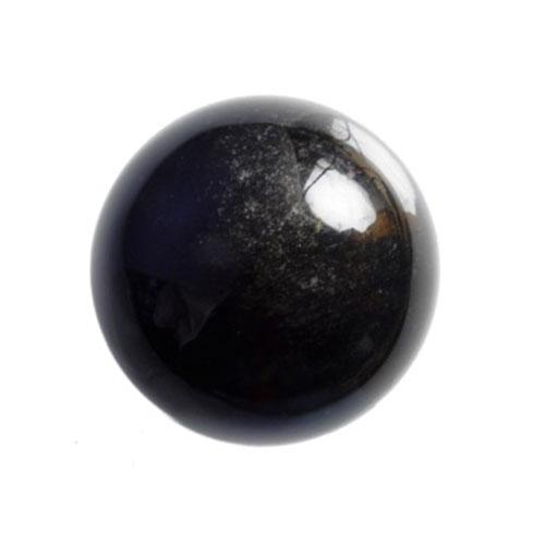 Obsidiaan edelsteen Mala Spirit